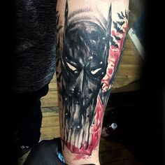 Cool Abstract Batman Tattoos