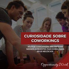 Além de trabalhar em um ambiente descontraído e de alto padrão, muitos Coworkers acabam virando parceiros de negócios, seja começando uma conversa na pausa para um cafézinho, estando na área de descompressão, ou até mesmo tirando alguma dúvida com relação ao trabalho.    #Opportunity #OpportunityWork #Coworking #Cowork #TrabahoemEquipe #façanegocios #fazernegocios #sp #sãopaulo #brasil #office #escritoriocompartilhado