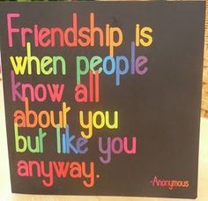 Definition of friendship. True friends are rare gems.