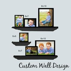 Portrait Wall design Cheryl Steinhoff Photography -baby and child photographer serving Raleigh, Durham, Chapel Hill, and Cary NC