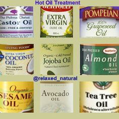 Favorite Oils For Oil Rinsing/Deep Conditioning/Pre-pooing (cleansing)