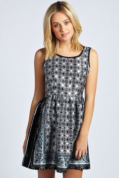 Toppy Dress Daisy Black - pictures, photos, images