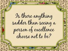 Person of Excellence