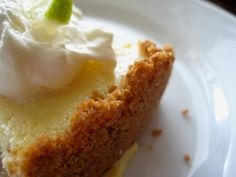 Key Lime Pie with Helen Corbitt's Graham Cracker Crust