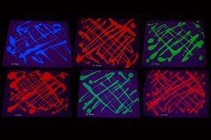 Assorted Blacklight Reactive Fluorescent Tempera Paint
