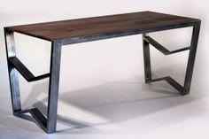 Summit Series Desk by RockyMountainTableCo on Etsy, $1500.00
