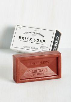 Scrub-a-Dub-Debonair Bar Soap - Good, Travel, Guys, Under $20