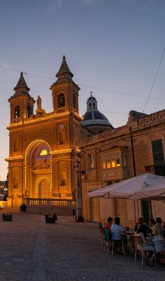 Strung With Lights.. Malta | Flickr - Photo by Brian Hammonds