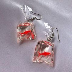 Products - Picture of Carnival Fish Earrings - . - Products – Picture of Carnival Fish Earrings – - Weird Jewelry, Funky Jewelry, Art Deco Jewelry, Cute Jewelry, Beaded Jewelry, Jewelry Accessories, Jewlery, Jewelry Trends, Jewelry Bracelets