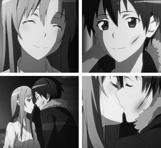 Kirito and Asuna have become one of my favorite anime couples. ^_^