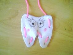 Tooth fairy pillow - children's sewing activity