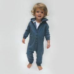 Hooded jumpsuit by Gray Label. Little Boy Fashion, Baby Boy Fashion, Toddler Fashion, Kids Fashion, Baby Boy Outfits, Kids Outfits, Gray Label, Boys Wear, Kid Styles