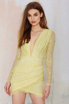 Nasty Gal Havana Lace Dress