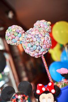 mickey mouse ears lollipops