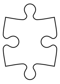 Coloring page puzzle piece - coloring picture puzzle piece. Free coloring sheets to print and download. Images for schools and education - teaching materials. Img 27119.