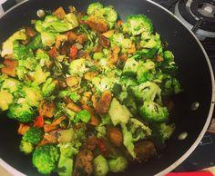 Tofu e Brócolis