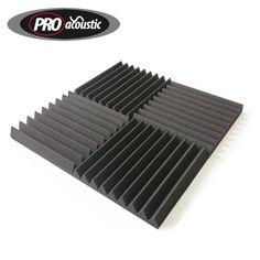 24x AFW305 Acoustic Foam Tiles 12  x 12   Home Cinema Audio Sound Treatment UK