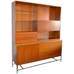 paul mccobb for calvin sideboard | From a unique collection of antique and modern credenzas at http://www.1stdibs.com/furniture/storage-case-pieces/credenzas/
