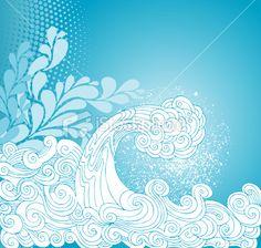 Wave Royalty Free Stock Vector Art Illustration