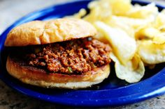 Pioneer Woman Sloppy Joe's—Great recipe with a cacophony of flavors!