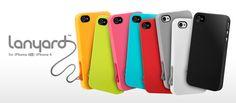 Fun lanyard iPhone 4 cases!