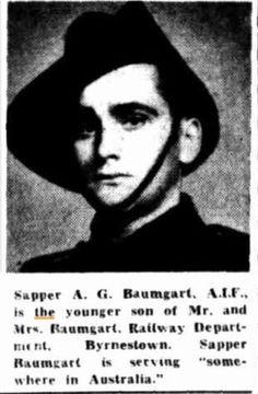 Sapper A G Baumgart AIF http://nla.gov.au/nla.news-article151309878