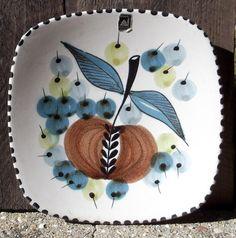 Graveren Norsk wall plate Hand Made in Norway Ltd Edtion fruit by vakvar on Etsy