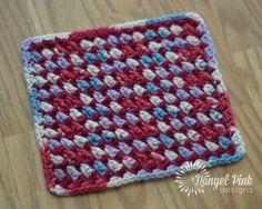 Free Crochet Pattern - Coastline Cloth - Happily Hooked Magazine Blog