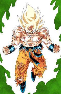 goku getting off namek Dragon Ball Gt, Foto Do Goku, Concept Art Tutorial, Cartoon Shows, Manga Drawing, Illustrations, Manga Anime, Fanart, Character Design