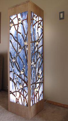 Chickadees - Delphi Artist Gallery