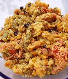 i piparussi muddhricati, ovvero i peperoni con la mollica Italian Recipes, Mexican Food Recipes, Diet Recipes, Cooking Recipes, Healthy Recipes, Antipasto, Vegetable Side Dishes, Vegetable Recipes, Going Vegetarian