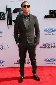 Celebrity Style At The BET Awards   Pharrell Williams