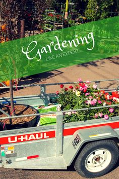 If you're planning on doing some gardening soon, save your energy for the job—make it easy with a trailer! Click through to find yours today! Best Gas Mileage, Car Trailer, Decorating Your Home, Monster Trucks, Gardening, How To Plan, Easy, Lawn And Garden, Horticulture
