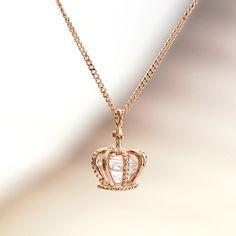 Crown Necklace, Princess Necklace, Queen Necklace