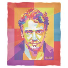 See James Franco like you've never seen his before, as a pillow cover. James And Dave Franco, Comfy Blankets, Pillow Covers, Sleep, Princess Zelda, Pillows, Fictional Characters, Celebs, Bedding