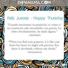 Propósito ... Purpose...   #PANAMA #EnPanama #TRAVEL #QUOTES #VIAJES #CITAS http://www.facebook.com/en.panama  EnPanama.com