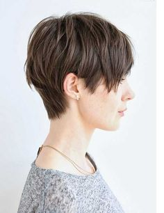 Pretty Pixie Cut Hairstyle To Make You Look Attractive