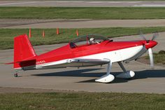 RV8 fastback Kit Planes, Aviation Image, Experimental Aircraft, Paint Schemes, Sun Lounger, Airplane, Fighter Jets, Rv, Red And White