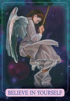 Oracle Card Believe In Yourself   Doreen Virtue - Official Angel Therapy Website