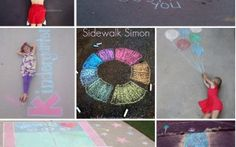 Amazing things to do with sidewalk chalk! - Princess Pinky Girl - Princess Pinky Girl // Powered by chloédigital