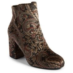 85a238edfb6 Women s Bp. Kolo Paisley Velvet Bootie ( 60) ❤ liked on Polyvore featuring  shoes