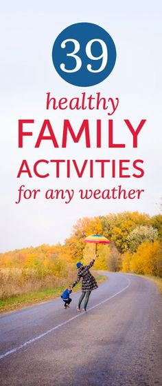 Healthy family activities that pretty much anyone can do anytime, anywhere (yes - this kept three boys busy in a snowed-in hotel room!)