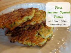 Fried Summer SquashPatties #Fried, #Patties, #SummerSquash, #Zucchini #HomestyleCooking