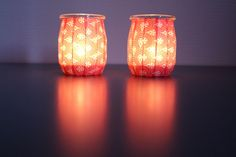 Kosmetik Box, Glass Votive, Light Bulb, Table Lamp, Animation, Paper, Home Decor, Yogurt Cups, Lantern Candle Holders
