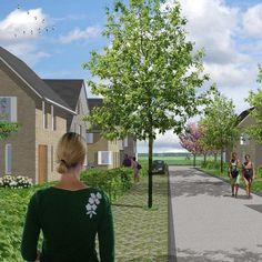 Stedenbouwkundig plan en architectonisch ontwerp 75 eengezinswoningen, i.o.v. Blauwhoed en Rabo Bouwfonds (2007)