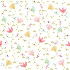 Patrón floral vector en estilo doodle Ve. Print Wallpaper, Wallpaper Iphone Cute, Cute Wallpapers, Geometric Background, Background Patterns, Textured Background, Feather Texture, Rose Gold Texture, Pattern Paper