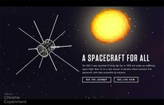 Our mission is to provide inspiration, motivation and insight into how you design the web. A Spacecraft for All Citizen Science, Spacecraft, Insight, Rachel Smith, Web Design, Product Launch, Design Inspiration, Google Chrome, Venice Beach