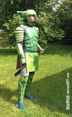 Leaf Man (Epic movie) Cosplay, Mk II by Pasiphilo on DeviantArt - Epic Film, Epic Movie, Elf Dance, Darth Bane, Leaf Man, Blue Sky Studios, Knights Of Ren, Male Cosplay, Cosplay Helmet