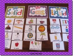 Liquids, Solids, Gases, Oh My! Kindergarten Science, Elementary Science, Science Classroom, Teaching Science, Elementary Shenanigans, Teaching Ideas, Science Topics, Science Lessons, Science Education