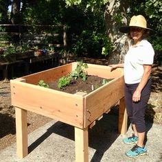 DIY Raised Bed Planter : 16 Steps (with Pictures) - Instructables Watering Raised Garden Beds, Raised Planter Beds, Building Raised Garden Beds, Raised Beds Bedroom, Stone Raised Beds, Raised Bed Frame, Raised Bed Plans, Garden Bed Layout, At Least